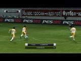 Россия 2-1 Черногория(звезда футбола)